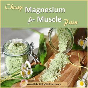 Cheap Magnesium for Muscle Pain