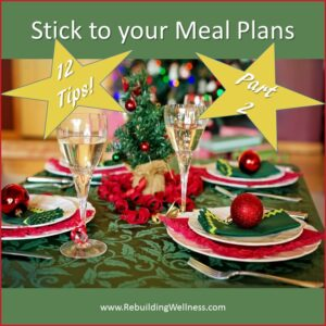 12 Tips Stick to your Meal Plan - 2