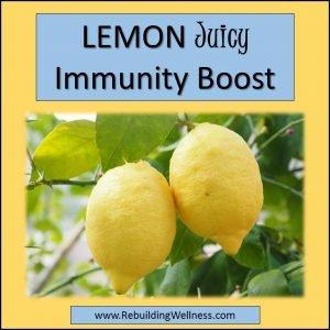 Lemon Immunity Boost
