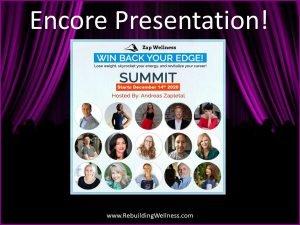Win Back Your Edge Summit - Encore Fibro Weight Loss